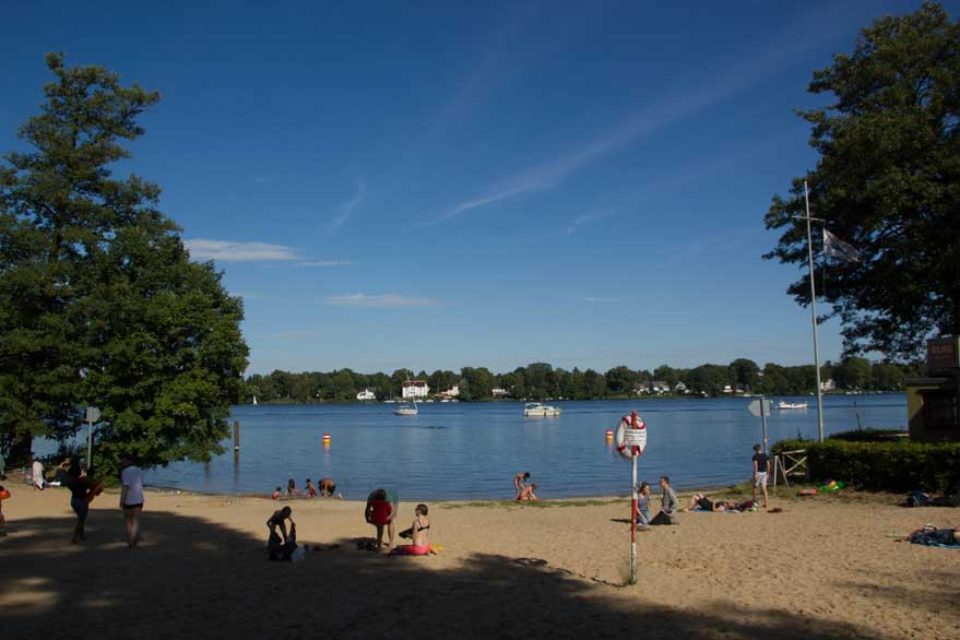Strand an der Havel