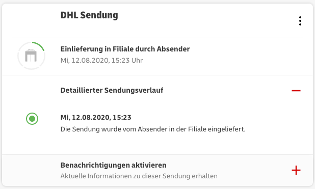 iphone dhl